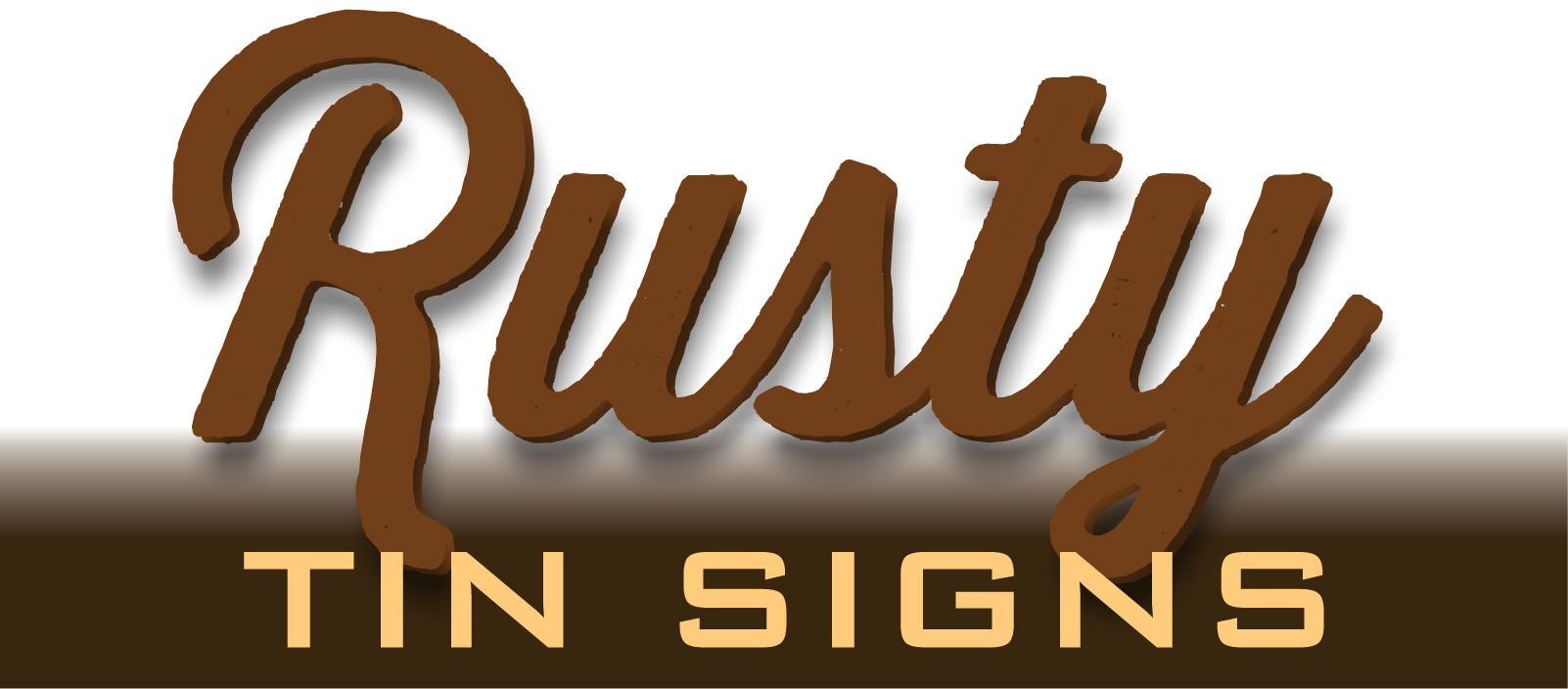 Rusty Tin Signs